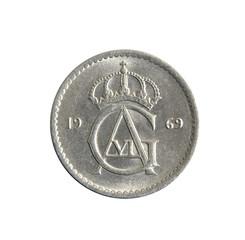 Swedish 50 ore coin