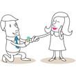 Figur, Heiratsantrag 2