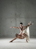 Ballet dancers posing together