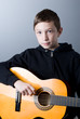 boy who plays guitar