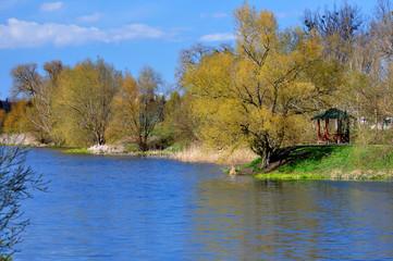Szczecin - jeziorko Słoneczne, Gumieńce