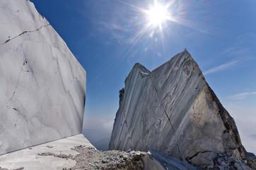 Toscana: Alpi Apuane, cava di marmo 6