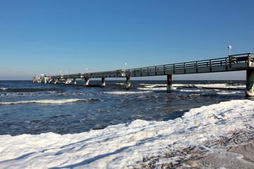 Urlaub an der Ostsee im Winter