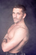 Seiten Profil eines Mannes