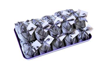 Bem casado - wedding sweet treat on a tray