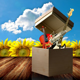 Open up your music talent box poster