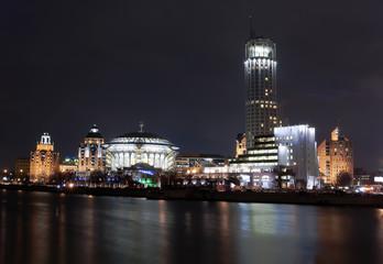 Night buildings