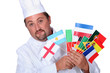 World cuisine chef