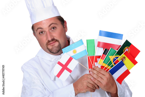 World cuisine chef
