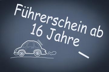 Führerschein ab 16 Jahre