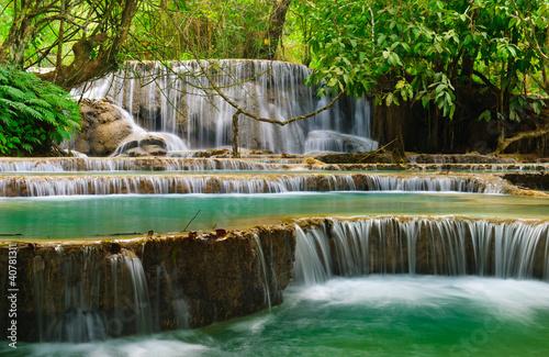 Fototapeten,wasserfall,wasser,laos,erstaunlich