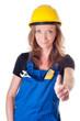Handwerkerin - Arneiterin - worker