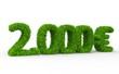 2000 € 3d Schrift gras