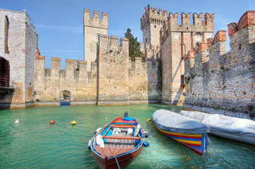 Ancient castle. Sirmione, Italy.
