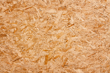 Recycled compressed wood chippings board
