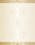Elegant vintage damask stationery