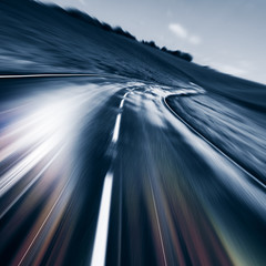 motion road ahead
