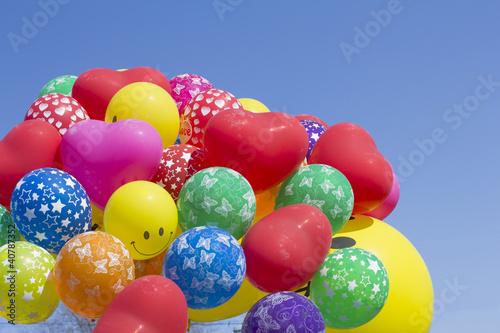 balloons on blue sky © alextan8