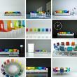 Wohndesign Sammlung Regenbogen