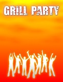 plakat v2 grillparty IV