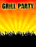 plakat v2 grillparty V