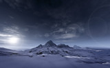 Fototapety snowy mountains