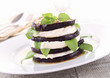 eggplant and mozzarella