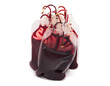 bags of blood, isolated