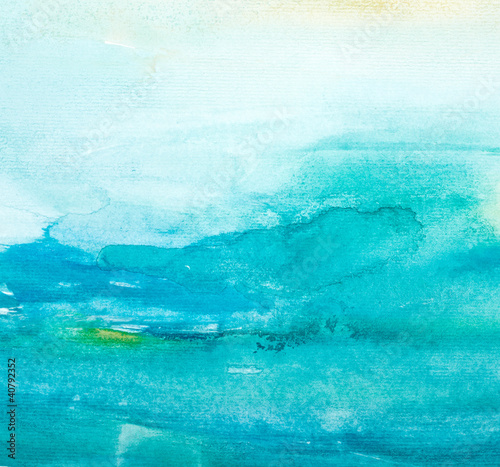 color strokes watercolor painting art - 40792352