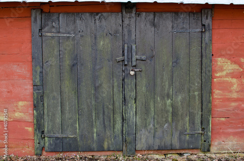 Old pair doors