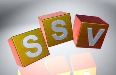 3D Fallende Wuerfel - SSV X