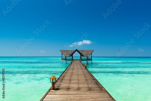 Brücke über den indischen Ozean