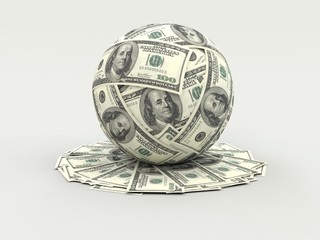 The money in the world