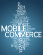 "Word Cloud ""Mobile Commerce"""