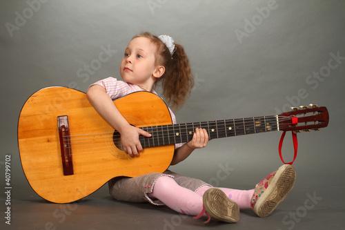 the little girl