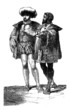 2 Noble Men - Renaissance 16th Century