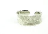 Filigree silver bracelet poster