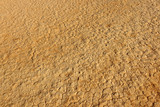 Cracks in desert sand, Wadi Rum