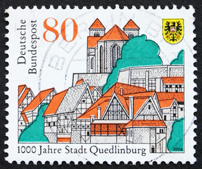 Postage stamp Germany 1994 City of Quedlinburg