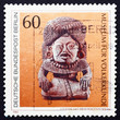 Postage stamp Germany 1984 Stone God with Beaded Turban