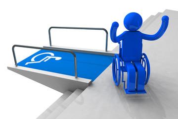 wheelchair up triumph