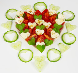 Herziger Salat