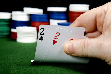 Pair of twos at poker
