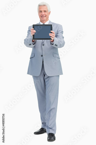 Boss showing a touch Pad screen
