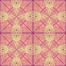 Oryginalny abstrakcyjny wzór mozaiki