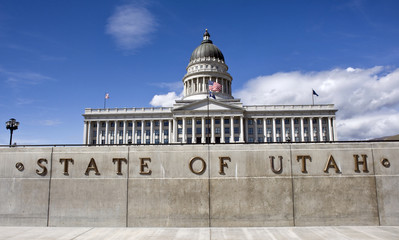 State Capital in Salt Lake City , Utah.