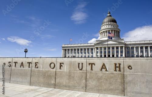 State Capital in Salt Lake City , Utah.