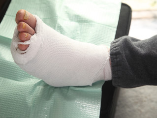 diabetic foot injury