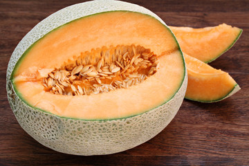 Fresh Cantaloupe or Muskmelon