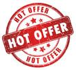 Hot offer grunge stamp